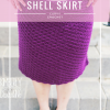 Curvy Crochet - Shell Skirt