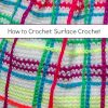 How to Crochet: Surface Crochet Technique (Surface Slip Stitch)