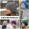 6 New Crochet Hat Patterns