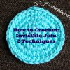 How to Crochet: Invisible Join (2 Techniques)