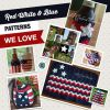 Red, White & Blue Patterns We Love!