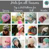 Crochet Hats for All Seasons