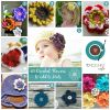 10 Crochet Flowers to Add to Hats
