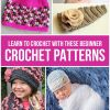 Learn to Crochet with these Beginner Patterns